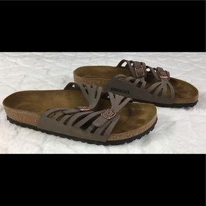 Birkenstock Size 40 Granada Tan Sandals